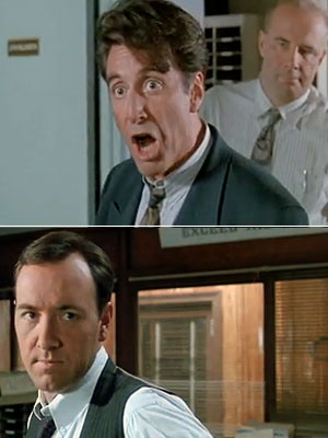 Glengarry Glen Ross, Al Pacino | Surprise! Al Pacino is angry. When his ineffectual, nepotistic boss (Kevin Spacey) costs him $6,000 in commissions, Ricky Roma gives him an upbraiding that's worthy…
