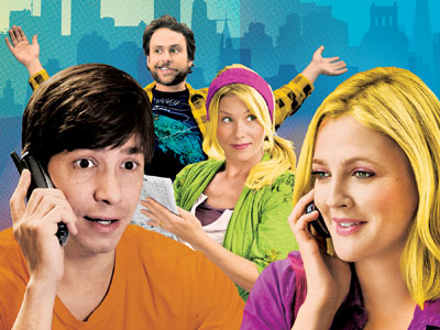 Justin Long, Drew Barrymore, ...   Drew Barrymore and Justin Long's love knows no bounds in this sweet rom-com (rated R) about a cross-country relationship, featuring a hilarious peanut gallery of…