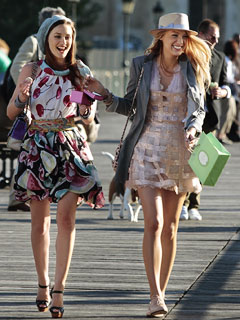 BIENVENUE DE RETOUR Blair and Serena's summer in Paris makes for a premiere in fashion heaven.