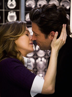 Grey's Anatomy, Ellen Pompeo, ... | 7. Grey?s Anatomy Romance, thy name is, er, elevator. At least it is on Grey's Anatomy . When Derek decorated the inside of Seattle Grace's…
