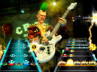 11. GUITAR HERO: WARRIORS OF ROCK (PS3, Xbox 360, Wii) Its got a new fantasy-film plot. (9/28)