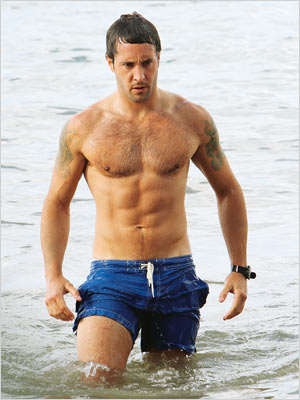 Alex O'Loughlin, Hawaii Five-O | (Votes received: 626; 3%) ''Steve McGarrett H 5-0 hands down!!!!'' — J ''Steve McGarrett. Yummy! Who wouldn't want to wake up to that ripped bod…