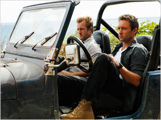 Hawaii Five-0 Scott Caan and Alex O'Loughlin