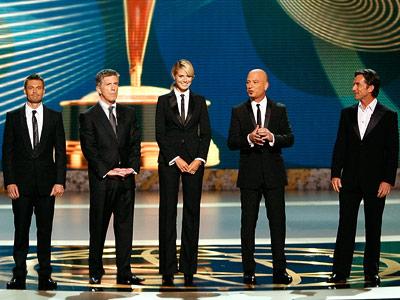Emmy Awards, Heidi Klum, ...   WORST: TOM BERGERON, HEIDI KLUM, HOWIE MANDEL, JEFF PROBST, RYAN SEACREST The Emmy Awards: 2008 In celebration of the brand-new Best Reality Host Emmy award,…