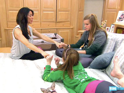The Real Housewives Of New Jersey, Danielle Staub   (''Casinos and C-Cups,'' season 1, episode 5...and pretty much every other episode) Danielle desperately wants to be best friends with her teenage daughters. Maybe it's…