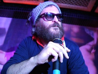 Joaquin Phoenix, I'm Still Here | I'M STILL HERE Is Joaquin Phoenix for real? Or is his ''rap career'' just a Borat-esque hoax? Fake or not, the R-rated documentary about his…