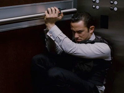 Inception, Joseph Gordon-Levitt | 6. Inception How do you drop someone in zero gravity? It's a question for scientists and philosophers?and also a sticky situation for pointman Arthur, stuck…