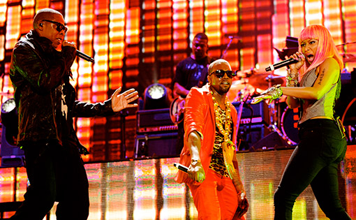 Jay-Z-Kanye-Nicki-Minaj
