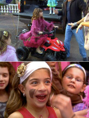 The Real Housewives Of New Jersey   (''Into the Lion's Den,'' season 2, episode 5) Teresa hosted a makeover party for Gia, which included facials and spa treatments, both unnecessary for nine-year-old…