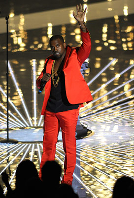 MTV Video Music Awards, Kanye West | 8. Debuts ''Runaway,'' a bracingly honest new song about his personal faults, at the 2010 VMAs. We join him in a hearty ''toast for the…