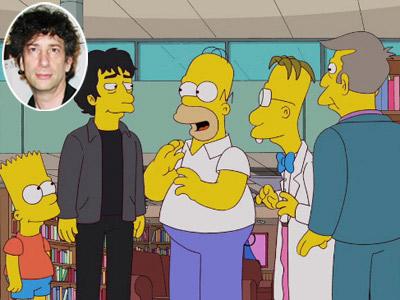 THE CHARACTER : Neil Gaiman (from ''The Book Job,'' 2011) A stylized episode that sent up the children's fantasy book genre as well as the…