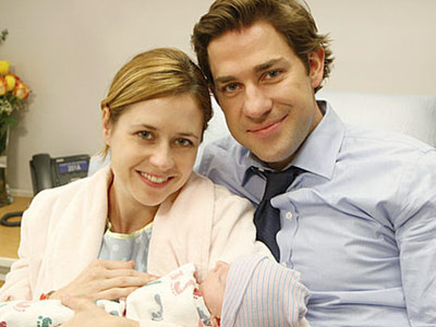 The Office, John Krasinski   Little Cecelia Marie put an end to her parents' will-they-or-won't-they status. She's so precious, we'll even forgive her for being The Office 's metaphorical shark.