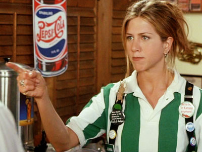 Office Space, Jennifer Aniston | Ever get the feeling that the people who work at TGIF are the ones that most understand the beauty of that acronym? When Jennifer Aniston's…