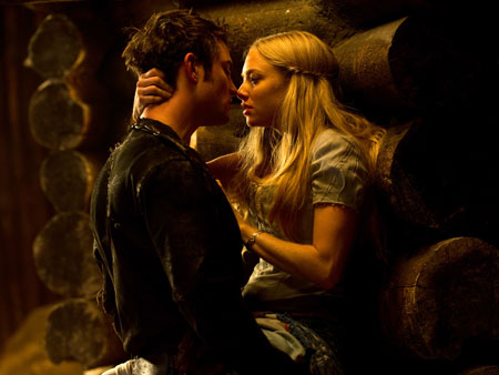 Amanda Seyfried, Little Red Riding Hood | The threat of demons and werewolves further complicates the Little Red Riding Hood love triangle (which includes Peter, played by Jericho 's Shiloh Fernandez, pictured),…