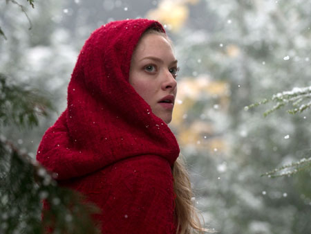 Little Red Riding Hood, Amanda Seyfried | Amanda Seyfried's heroine, Valerie, may wear the titular cape, but this isn't the story you remember. A werewolf terrorizes the village, paranoia runs rampant, fueled…