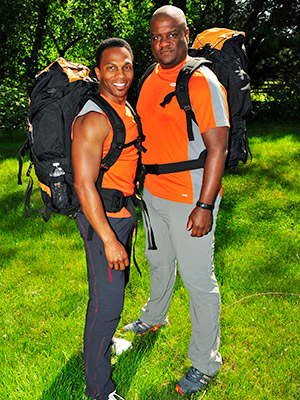 The Amazing Race | RON KELLUM (left) AGE: 45 HOMETOWN: Los Angeles, Calif. OCCUPATION: Director/Choreographer TONY STOVALL AGE: 42 HOMETOWN: Tucson, Ariz. OCCUPATION: Doctoral Student (University of Arizona) RELATIONSHIP:…