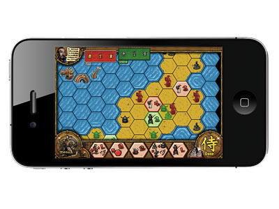 Reiner Knizia's SAMURAI App for iPhone Capture territory in feudal Japan with this Risk-style game, which allows up to four players. Will you be the…