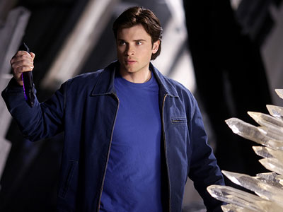 Smallville, Tom Welling | 12. As is blue on blue.