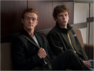 The Social Network | BILLION DOLLAR MEN Justin Timberlake and Jesse Eisenberg invent the modern world, more or less, in The Social Network