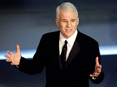 Steve Martin, Academy Awards   BEST: STEVE MARTIN The Academy Awards: 2001, 2003, 2010 (with Alec Baldwin) Who doesn't love Steve Martin? The affable funnyman turned in three of the…