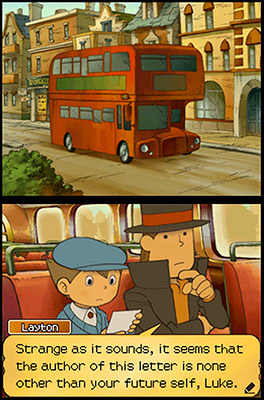 24. PROFESSOR LAYTON AND THE UNWOUND FUTURE (DS) Tackle more than 165 brainteasers while traveling around London with a Holmesian professor in this gorgeously animated…