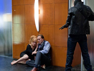 Nicolas Cage, Nicole Kidman, ... | Kidman and Cage play a wealthy couple whose lakefront dream house is the target of a break-in in Trespass , currently filming in Shreveport, La.…
