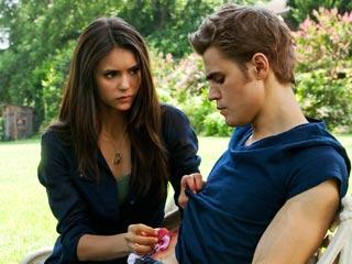 The Vampire Diaries, The Vampire Diaries   The Vampire Diaries Nina Dobrev and Paul Wesley