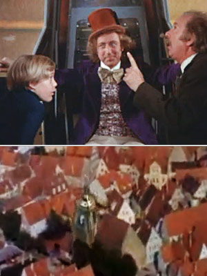 Willy Wonka and the Chocolate Factory, Gene Wilder | 2. Willy Wonka and the Chocolate Factory Let's face it: most elevators are pretty lame. They can only go up and down. They can't go…