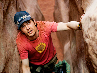 James Franco, 127 Hours | 10. 127 Hours Anyone signing up for this adrenaline-charged, almost painfully beautiful-looking movie knows the terrible thing that will happen before the time frame in…