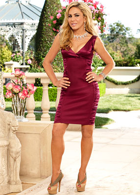 Real Housewives of Beverly Hills | ADRIENNE MALOOF Bio: Described as a ''no-nonsense businesswoman,'' Adrienne is part of the Maloof family dynasty, which owns the NBA's Sacramento Kings, Palms Casino Resort…