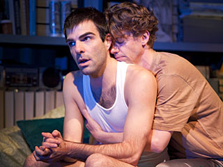 Angels in America, Christian Borle, ... | ANGELS IN AMERICA Zachary Quinto and Christian Borle