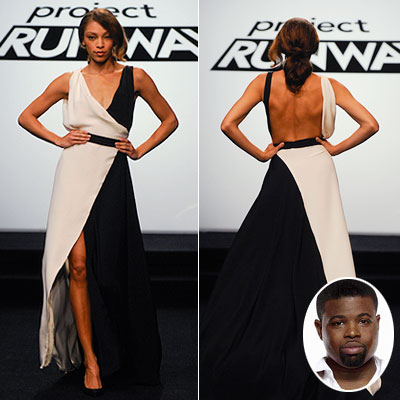 Project Runway | HOT Anthony's black-and-white dress (season 7, episode 11) Fan favorite Anthony not only returned to the show after his elimination the previous week — but…