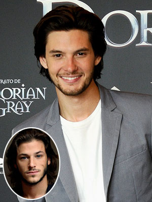 Ben Barnes | His book description: ''Straight black hair, olive skin, we even have the same gray eyes.'' Our pick: Ben Barnes ( The Chronicles of Narnia: Prince…