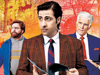 Ted Danson, Jason Schwartzman | BORED TO DEATH There's a lot to love in HBO's comic noir about Jason Schwartzman's amateur PI — and it's not just sidekicks Ted Danson…