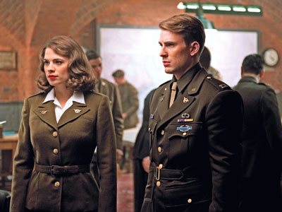 Captain America | Hayley Atwell and Chris Evans
