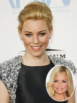 Her book description: ''Bright and bubbly...'' Our pick: Elizabeth Banks Your pick (inset): Kristin Chenoweth
