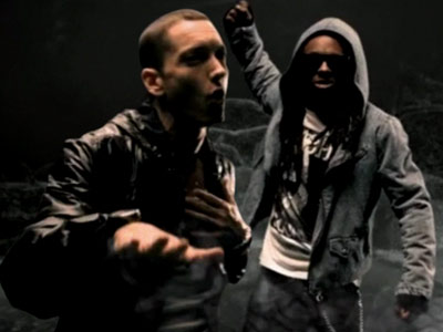 Eminem | Eminem's ''NO LOVE'' video feat. Lil Wayne When two of hip-hop's most fearsome talents team up, they can make even a sample of the cheesy…