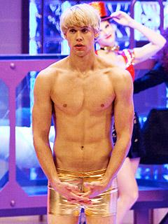 Glee-shirtless