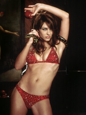 ELIZABETH HURLEY, Bedazzled Because every now and again, the devil should be able to wear a bikini. And work it.