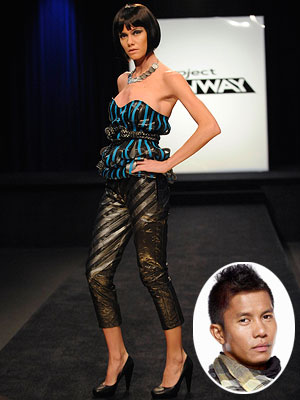 Project Runway | HOT Jay Nicholas' trash-bag couture (season 7, episode 7) In the same episode as Emilio's hideous string bikini, Jay Nicholas showed what true innovation can…