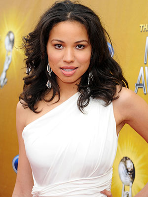 Jurnee Smollett | Her book description: She's good with knives and has a ''heavy, branch-breaking'' body. Our pick: Jurnee Smollett ( Friday Night Lights )