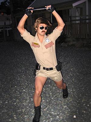 Lt. Dangle from Reno 911 Kalviny Man, Seattle, WA