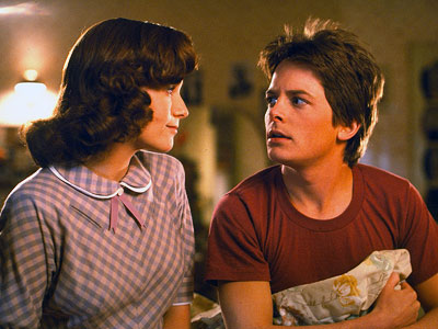 Back to the Future Part II, Lea Thompson, ... | Despite the whole my-mom's-trying-to-seduce-me angle, ''[ BttF ] was just so uncontroversial and just fun,'' says Fox.