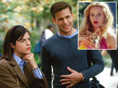 Legally Blonde, Reese Witherspoon | LEGALLY BLONDE ''Elle, if I'm going to be a senator, I need to marry a Jackie, not a Marilyn.'' —Warner (Matthew Davis) to Elle (Reese…