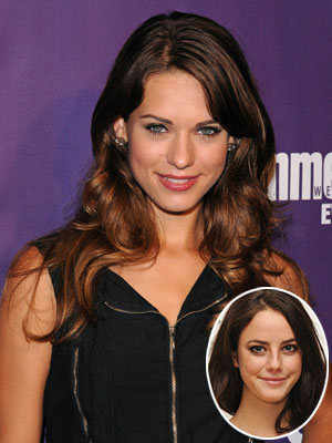 Her book description: She's slender, with long black braids and gray eyes. Our pick: Lyndsy Fonseca ( Kick-Ass , Nikita ) Your pick (inset): Kaya…