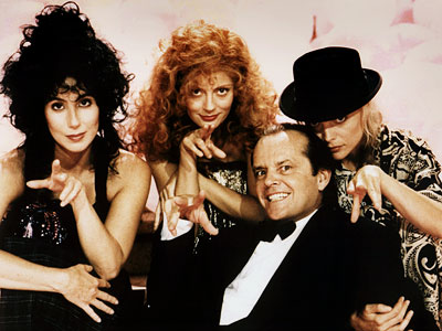 JACK NICHOLSON, The Witches of Eastwick Okay, so it's unclear if Darryl Van Horne — the randy rapscallion who gives a trio of suburban sorceresses…