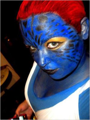 Mystique from X-Men Nicole Larrabee, Winter Garden, FL