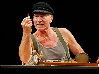 Patrick Stewart | A LIFE IN THE THEATRE Patrick Stewart