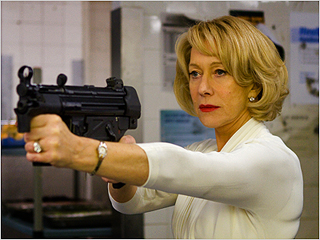 Helen Mirren | A DAME TO KILL FOR Helen Mirren fires a couple thousand rounds in Red