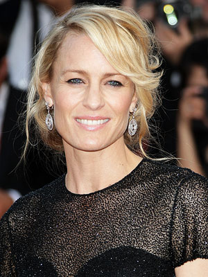 Robin Wright | Her book description: ''In sleep, my mother looks younger, still worn but not so beaten down.... My mother was very beautiful once, too.'' Our pick:…